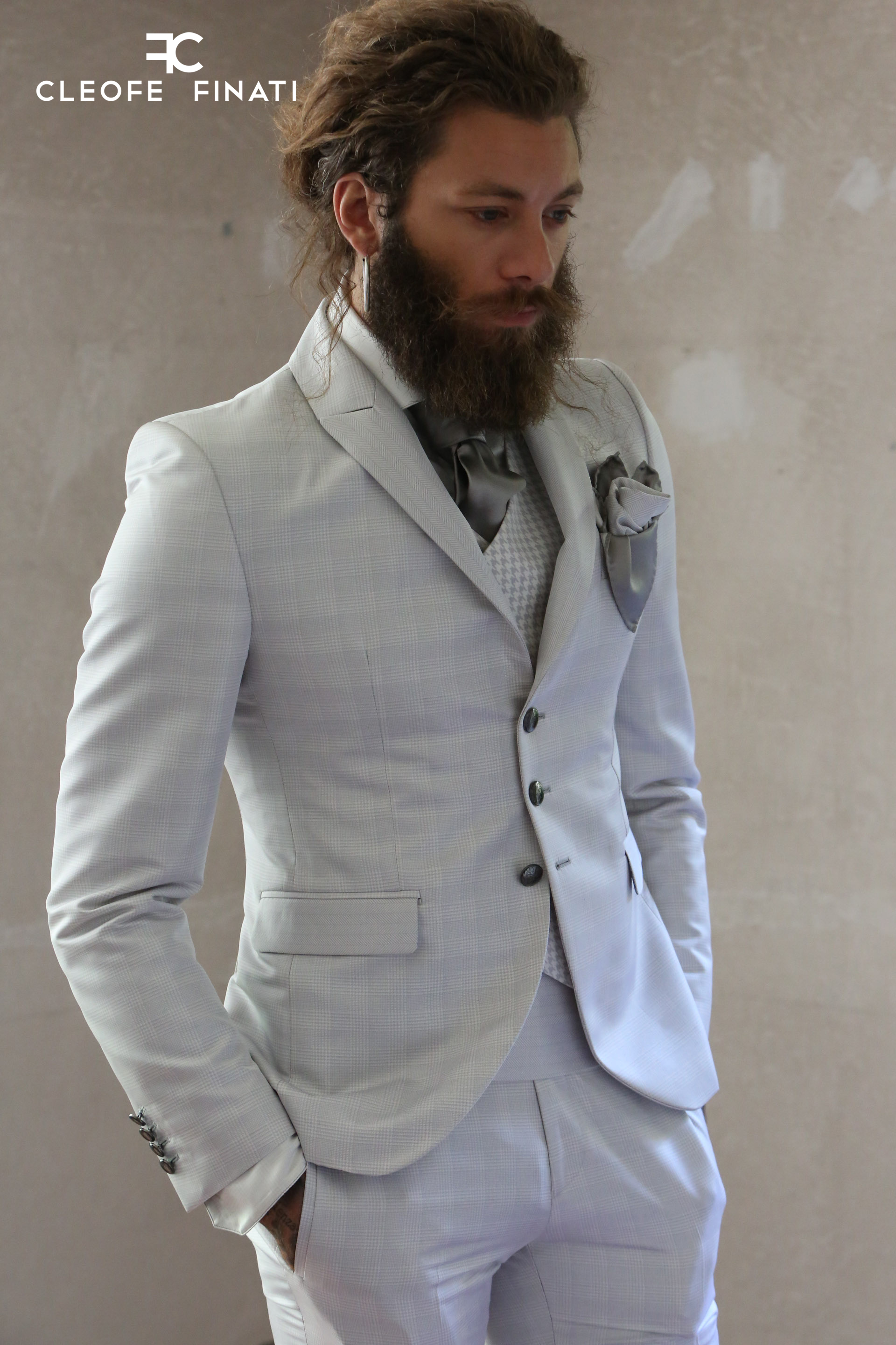 Andrea Marcaccini wears a suit of the Luxury Collection by Cleofe Finati a3d7c11bed4
